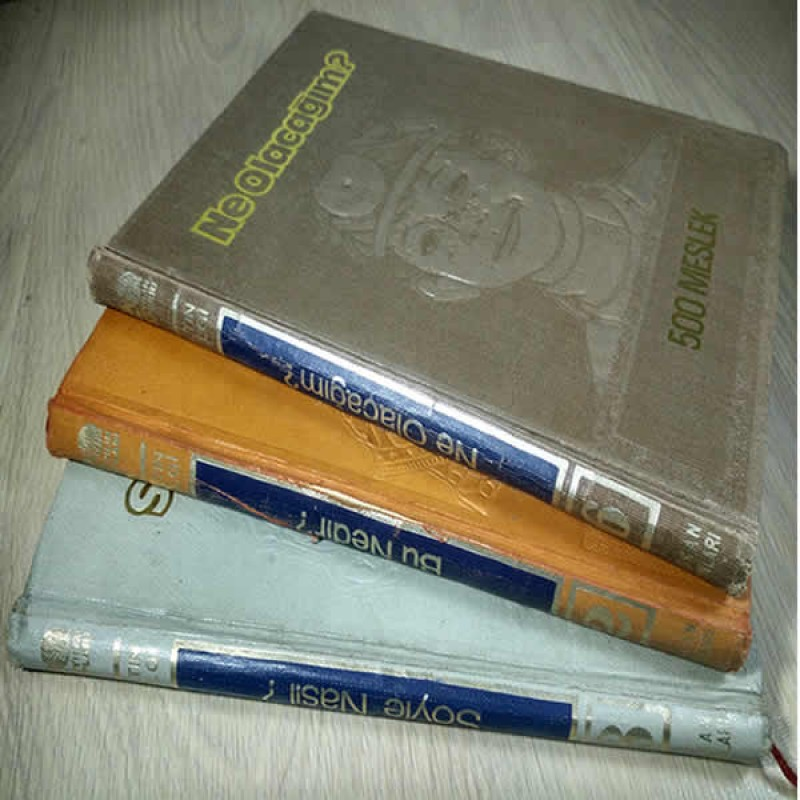 Antika Bilgi Ansiklopedisi - 3 Parça Set
