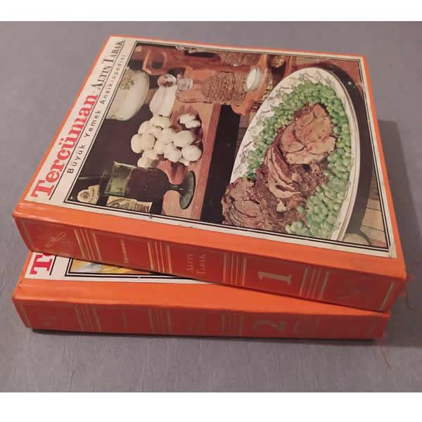 Antika Yemek Kitabı - 2 Parça Set