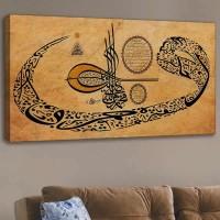 Kanvas Tablo - Dini (120x60)