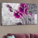 Kanvas Tablo - Çiçek (120x60)