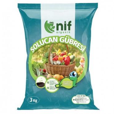 Nif Organik - Solucan Gübresi 3 Kg