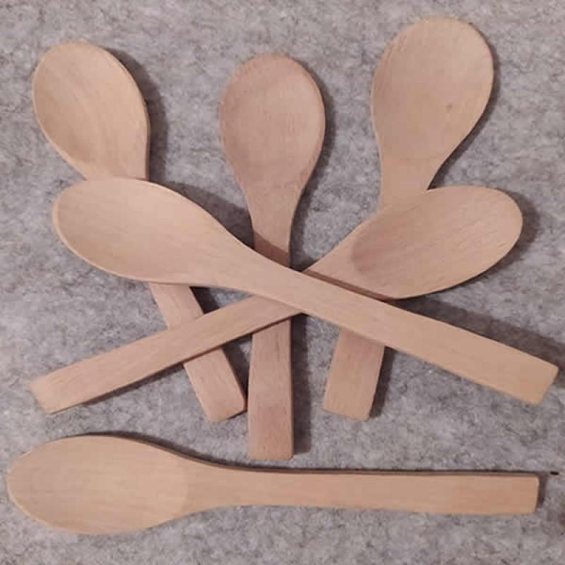 Bambu Tatlı Kaşığı 6'lı Set