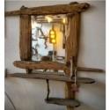 Ahşap Ayna (Sanat Eseri)