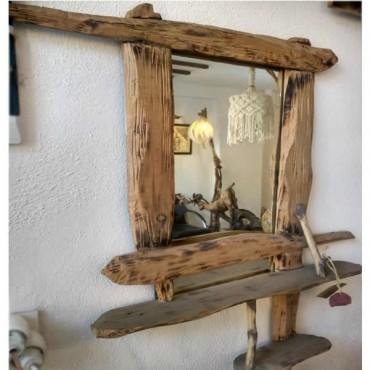 Ahşap Ayna  - Sanat Eseri Ahşap Oyma