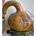 Su Kabağı Abajur - Sanat Eseri