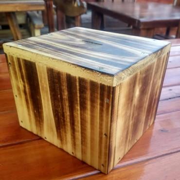Ahşap Kumbara - TipBox