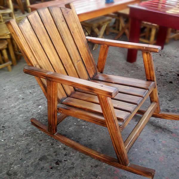 Sallanan Sandalye - Ahşap