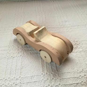 Ahşap Oyuncak Araba