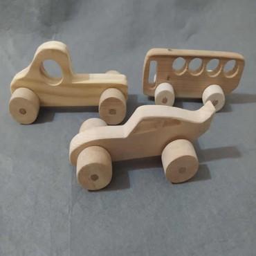 Ahşap Oyuncak Araba (Model-16)