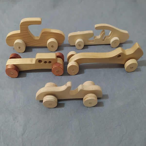 Ahşap Oyuncak Araba (Model-9)