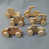 Ahşap Oyuncak Araba (Mini-9)