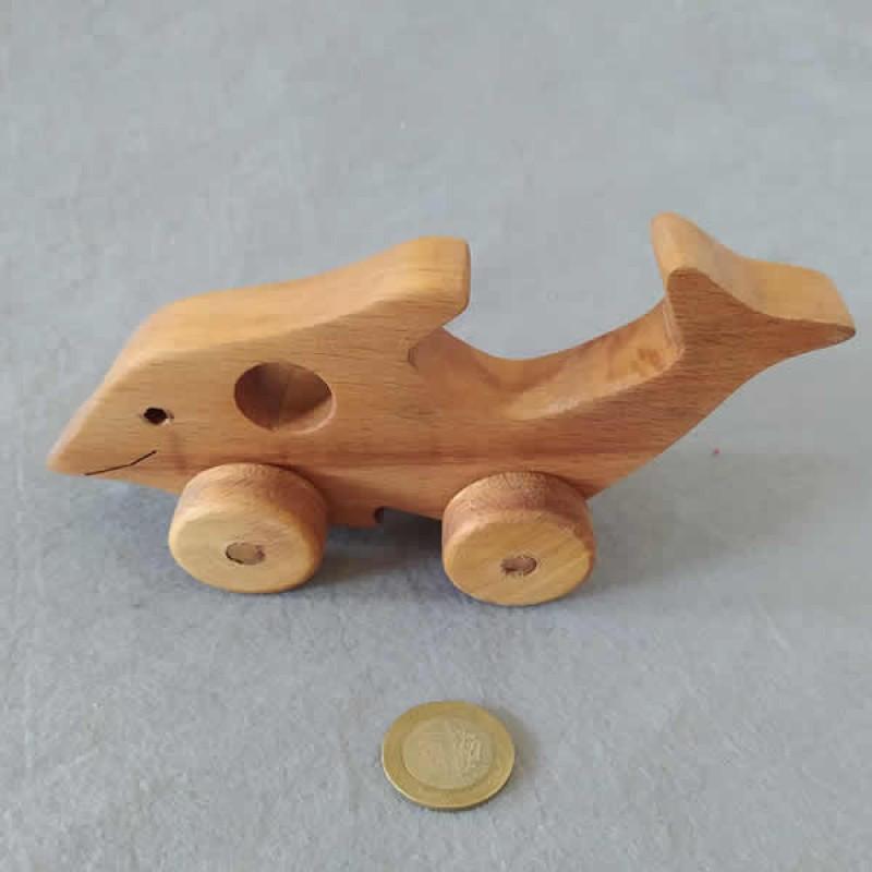 Ahşap Oyuncak Balık