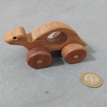 Ahşap Oyuncak Kaplumbağa