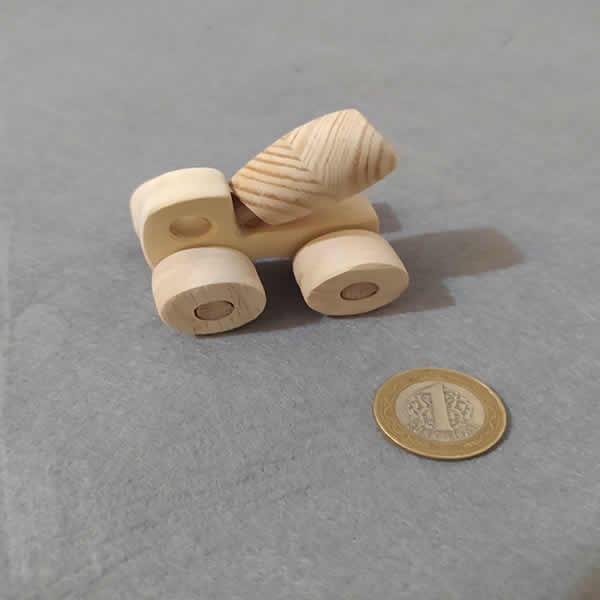 Ahşap Oyuncak İş Makinesi (Mini-16)
